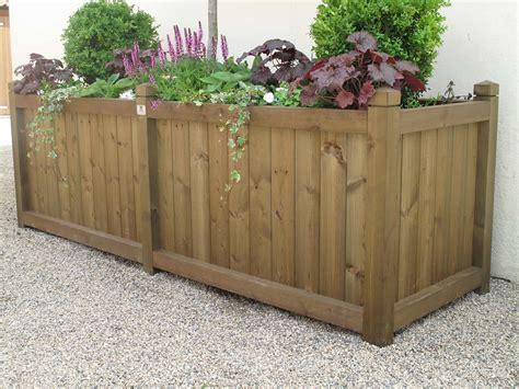 wooden bespoke planterss duncombe sawmill local and uk