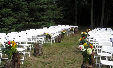 Wedding Aisle Decorations Outdoors by Rustic Outdoor Wedding Aisle Decorations Unique