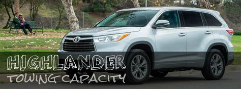 2008 Toyota Highlander Towing Capacity Toyota Highlander Tow Capacity Autos Post