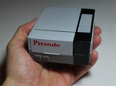 snes console emulator pitendo is a pint sized nintendo emulator technabob