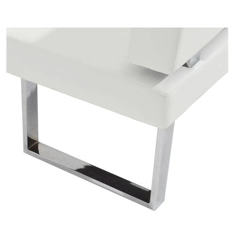 white corner bench linden white corner nook bench el dorado furniture