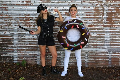 police man donut costume cgh brooklyn bailey duo