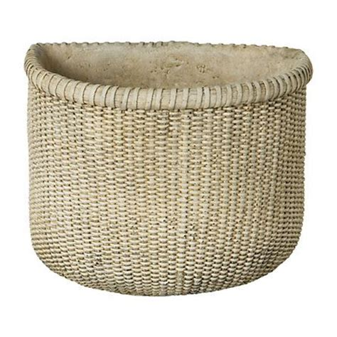 Concrete Basket Planter by 17 Best Images About Hyper Tufa Trends On