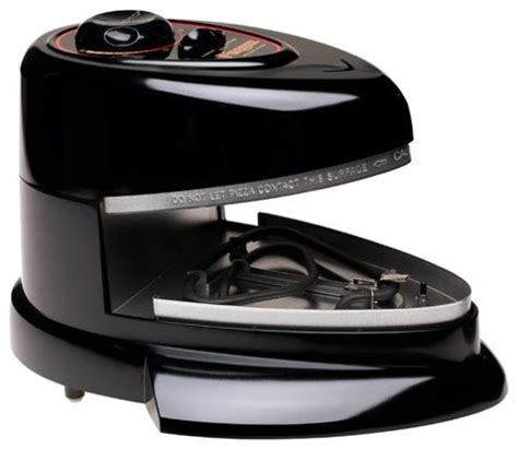 presto kitchen appliances presto 03430 pizzazz non stick rotating pizza oven