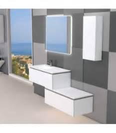 meubles de salle de bain suspendus aquarine collin arredo