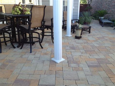 types of patio pavers venetian patio