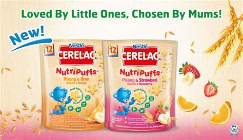 Cerelac Nutri Puff Puffs Nutripuff Nutripuffs nestle start well stay well maternal and infant nutrition
