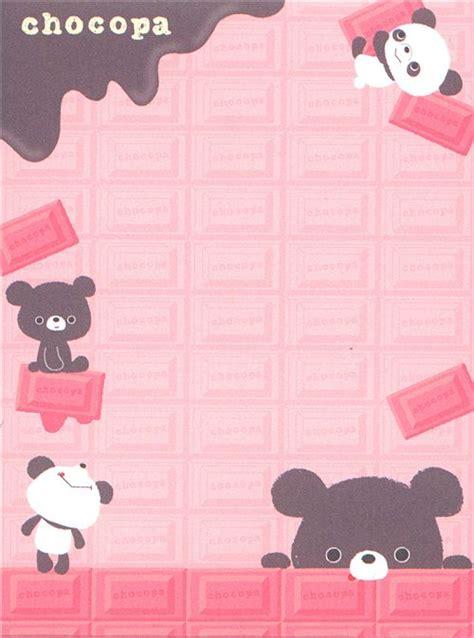 Gmb Set Mounie Panda Pink pink chocopa mini note pad panda chocolate memo