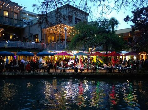 light san antonio lights on the san antonio river walk a