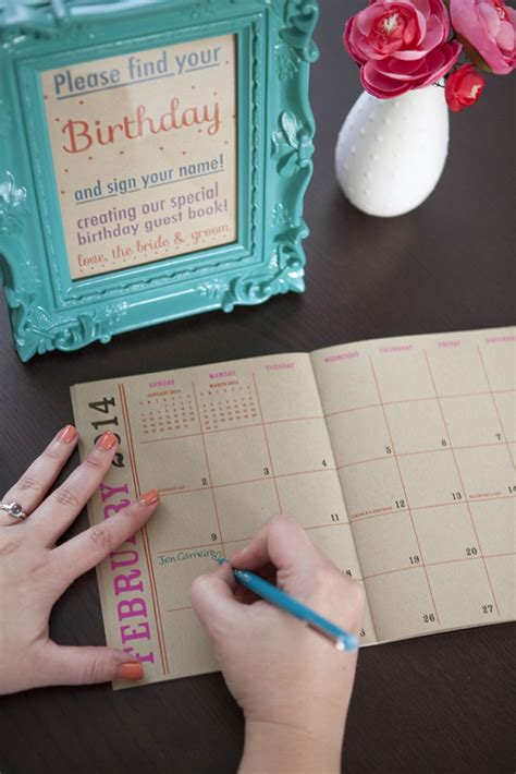 how to make a birthday calendar how to make a birthday calendar guest book