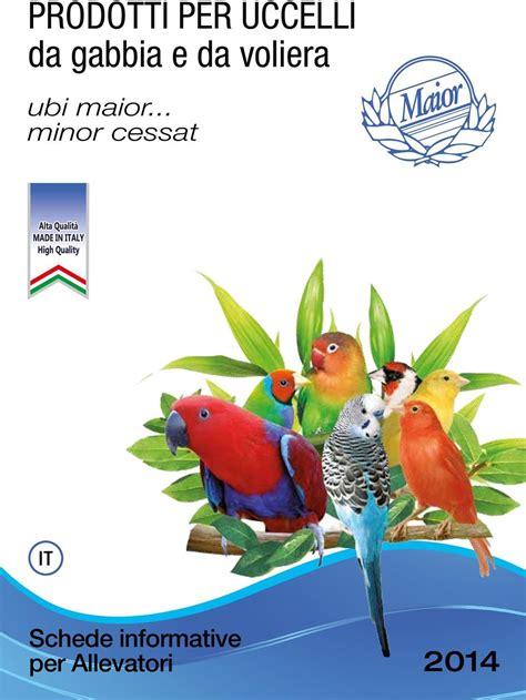 uccelli da gabbia e da voliera prodotti per uccelli da gabbia e da voliera pdf