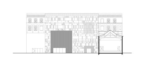 Longitudinal Section Architecture by Academy Of Roubaix Zig Zag Architecture Archdaily
