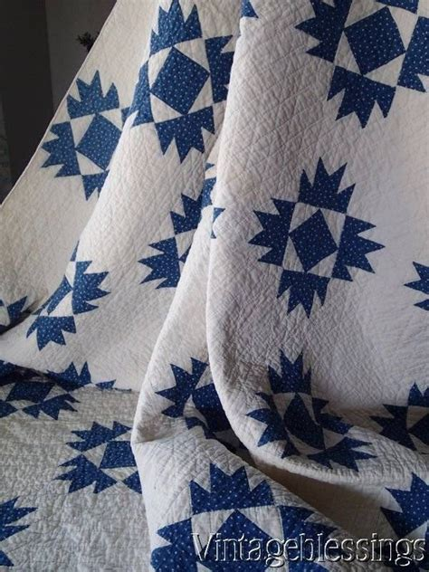 Blue And White Quilts For Sale The 25 Best Ideas About Antique Quilts On