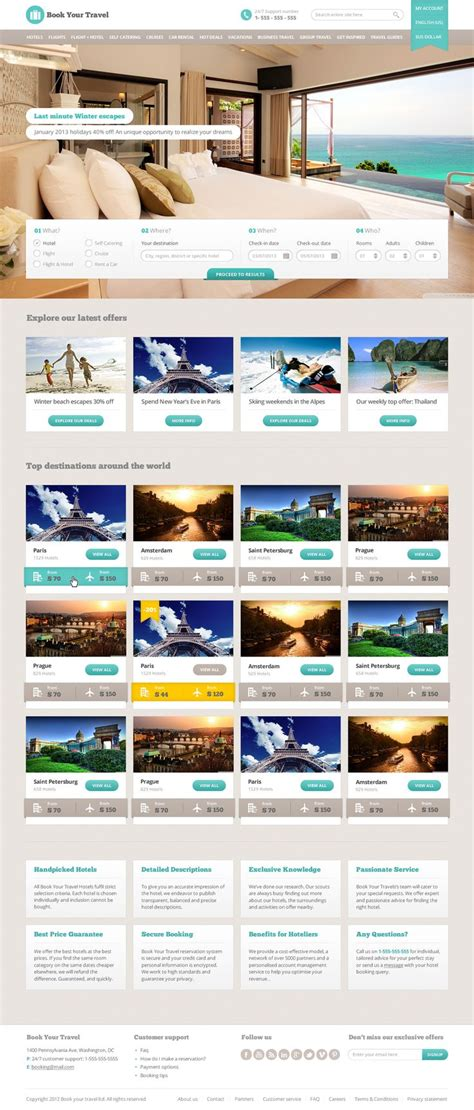 themeforest template design http themeforest net item book your travel online
