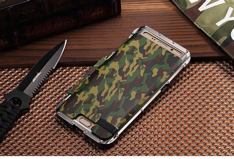Samsung Galaxy S6 Edge Plus Iron Sword Blade Bumper Diskon armor king iron luxury shockproof stainless steel aluminum metal f armor king