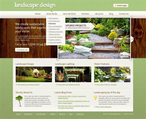 landscape design joomla template 32408