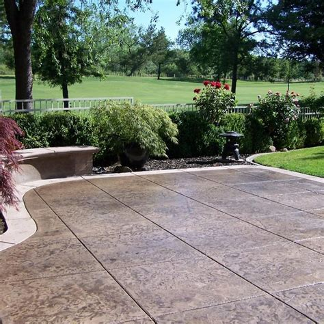 Patio Ideas Other Than Concrete 2017 Concrete Patio Cost Calculator Average Cost To Pour