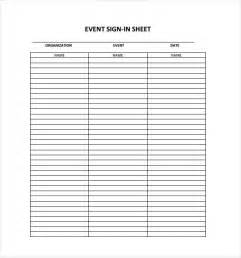 Event Sign Up Sheet Template by Doc 12871662 7 Event Sign Up Sheet Template Bizdoska