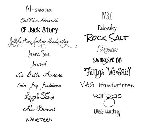 tattoo fonts that look like handwriting 20 free handwritten fonts studio guerassio