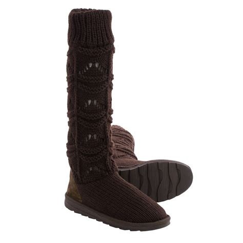muk luks knit boots muk luks knit boots for save 83