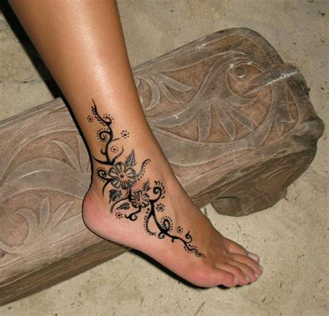 15 beautiful tribal ankle tattoos only tribal