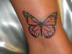 butterfly tattoos for a soft feminine look