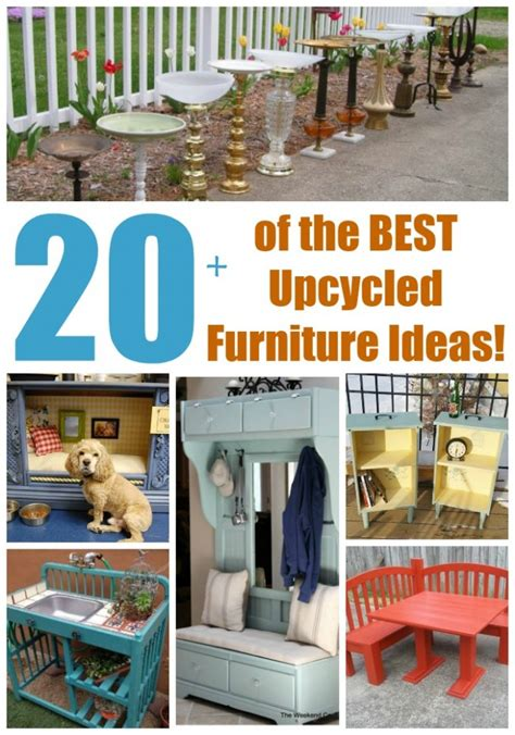Trash To Treasure Ideas Home Decor 20 Of The Best Upcycled Furniture Ideas Kitchen Fun