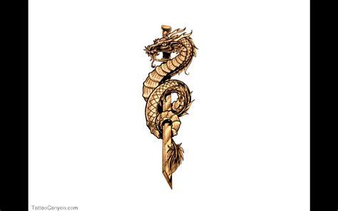 tattoo dragon and sword chinese dragon around sword tattoo 187 tattoo ideas