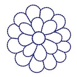 Flower Outline by Flower Outline Designs Clipart Best