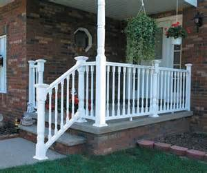 home depot vinyl railing porch railing installation help the home depot community