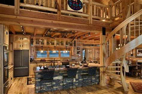 awesome log home interior interior log home open floor awesome log cabins 36 pics