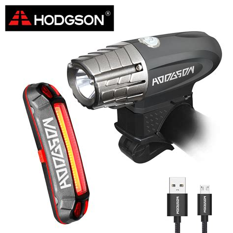 bike front and rear light set hodgson usb rechargeable bike light led waterproof front
