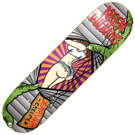 Deathwish Deck deathwish skateboards neen williams creeper skateboard