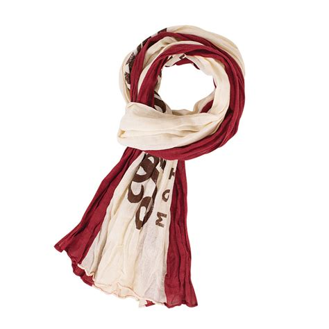 indian motorcycle cotton linen scarf unisex