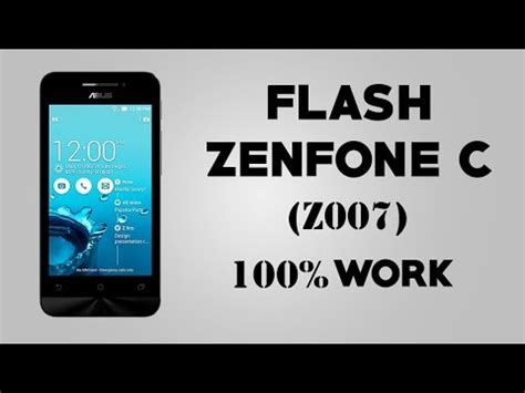 tutorial flash asus zenfone c z007 asus zenfone c video clips