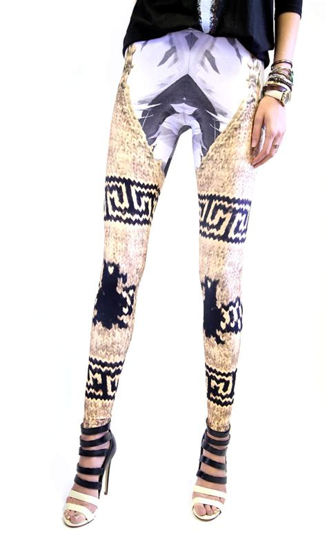 Stylehive Buzz Thigh High Scrunchable Socks Are As As They Are Cozy Fashiontribes Fashion by 9 Totally Amazing Printed