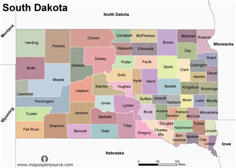 south dakota us map united states of america country profile free maps of