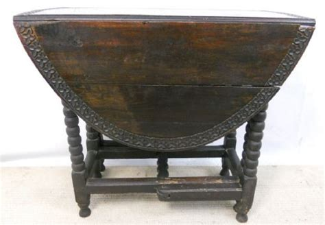 Small Gateleg Dining Table Carved Oak Small Oval Gateleg Dining Table 217349 Sellingantiques Co Uk
