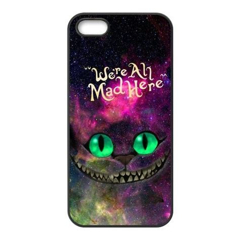 Casing Iphone 6 Chesire Cat in nebula for galaxy space cheshire cat phone cover for iphone 4 4s 5