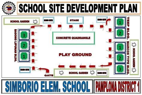 Free Home Plans school site development plan simborio elementary school