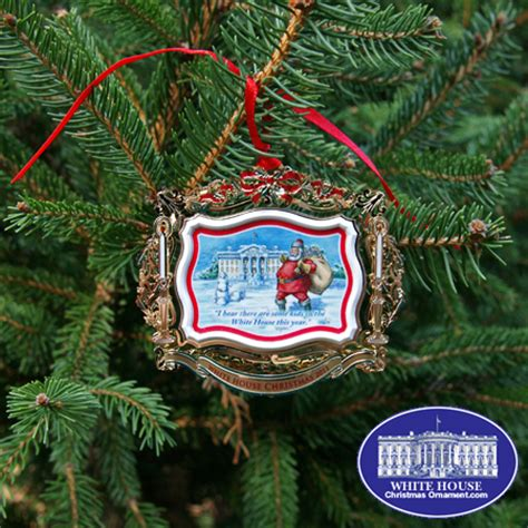 2011 white house theodore roosevelt ornament
