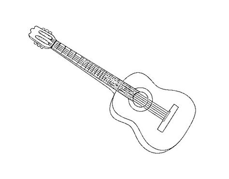 imagenes de guitarras faciles para dibujar guitarra dibujo www pixshark com images galleries with