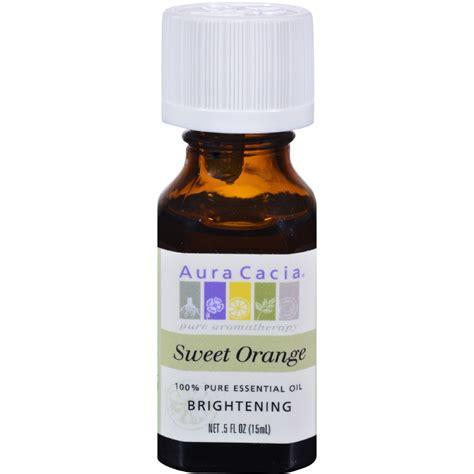 Dijamin Aura Cacia Aromatherapy Sweet Orange 118ml aura cacia essential sweet orange 0 5 fl oz yumza
