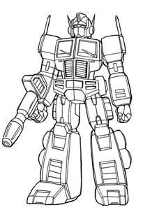 optimus prime coloring page optimus prime lineart by nakoshinobi on deviantart