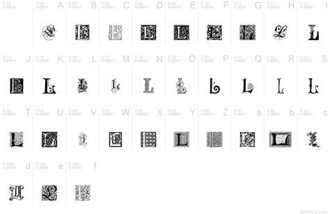 L Font by Ornamental Initials L Font