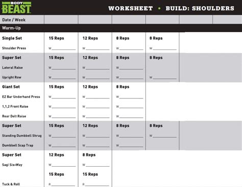 beast workout sheet build legs beast oasis fashion