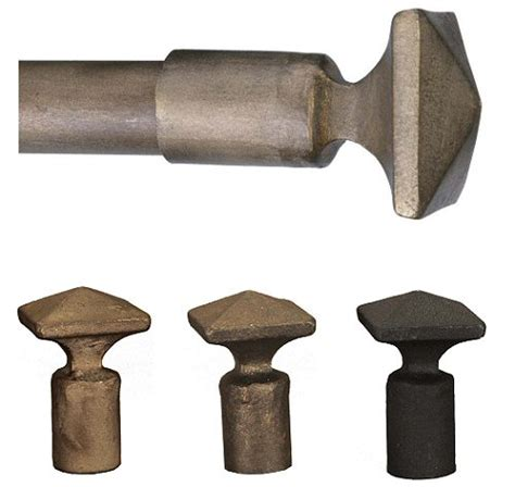 wrought iron curtain rods and finials passage wrought iron drapery hardware pyramid finial