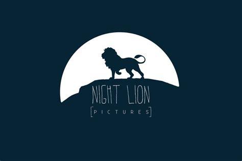 google design my night night lion logo jpg 900 215 600 design logos animals