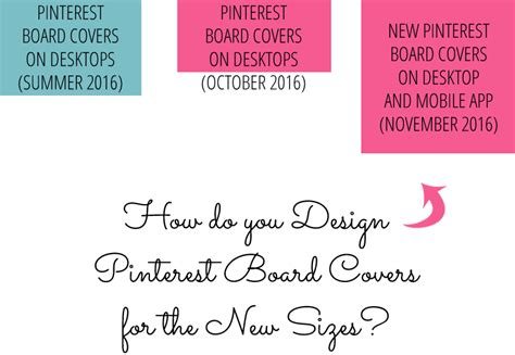 pinterest layout change how to create custom pinterest board covers new 2016 design