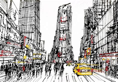 Building Sketch Online new york new york 2011 the paul kenton collection